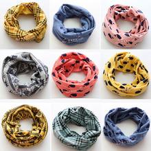 New Classic children's cotton scarf kids boy girl Ring Scarf Shawl Unisex Winter knitting Collar Neck Warmer desigual scarf(China (Mainland))