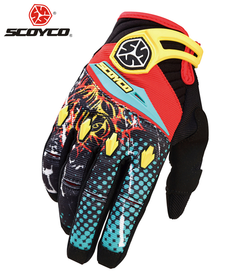 SCOYCO Motorcycle Riding Gloves Motorbike Motocross ATV Off-road MX Dirt Bike Racing Gloves Fashion Breathable Sports Guantes(China (Mainland))