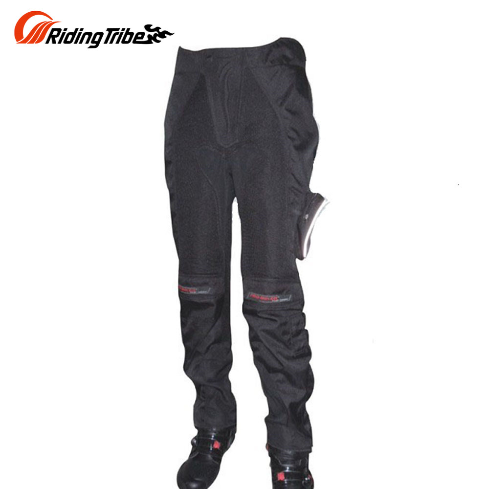 Riding Tribe Motorcycle Touring Riding Pants Men's Motorbike Motocross Off-Road Racing Pants Trousers with Knee Protective Gear(China (Mainland))