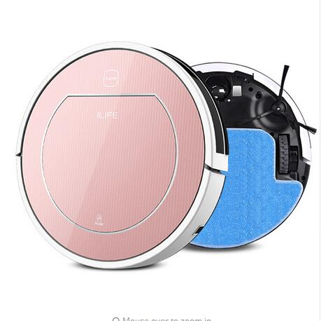 2016 NEW ilife V7S intelligent Dry and Wet Mop Robotic Vacuum Cleaner household ,Sensor,household cleaning(China (Mainland))