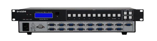 16 Port 16X1 VGA Matrix switch 16x1 Switcher HD 1080P Video Display Auto Loop RS232 IR remote control, Scenes Plan(China (Mainland))