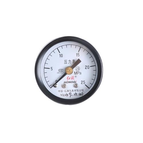 High Quaility Y-40Z Ordinary Axial Pressure Gauge Range:0-25Mpa