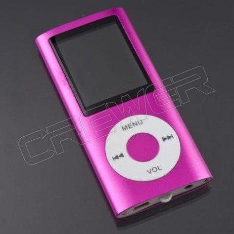 "Slim 4TH 1.8""LCD MP4 Video Radio FM Player For 2GB 4GB 8GB 16GB SD TF Card(China (Mainland))"