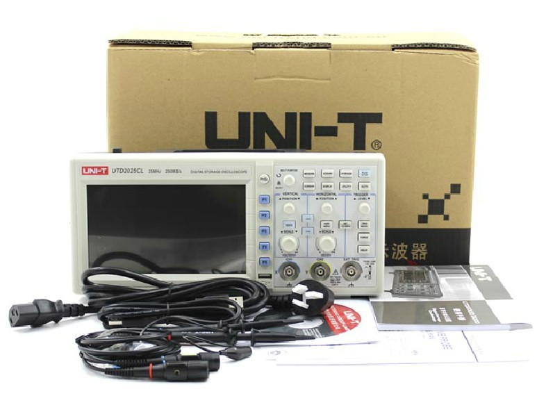 New product, UTD2025CL 25MHz 250Ms/s Digital Storage Oscilloscopes<br>