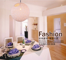Modern Novelty Innovative Cane Knit Pendant Lamp Nest Shape E27 30cm Handmade Rattan Weave Art Luminaire Deco Luster Lights(China (Mainland))