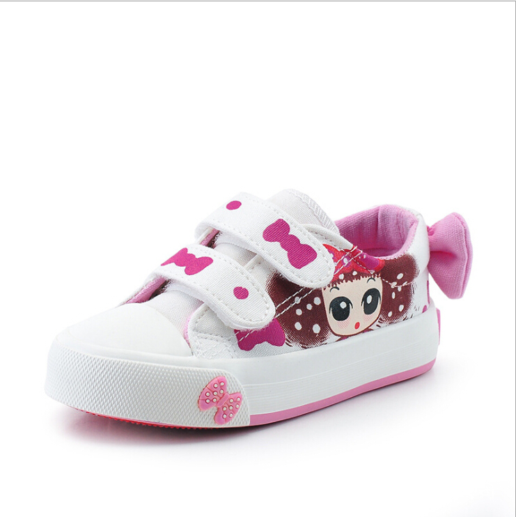 Baby toddler casual cute canvas hand painted princess dream home fashion spring/summer leisure for children(China (Mainland))