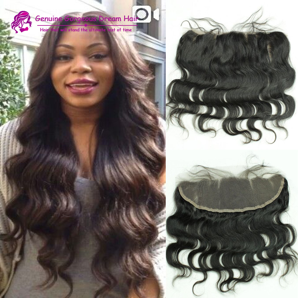 8A virgin Peruvian hair lace frontal closure 13x4 with fast shipping body wave human hair ear to ear lace closure bleached knots<br><br>Aliexpress