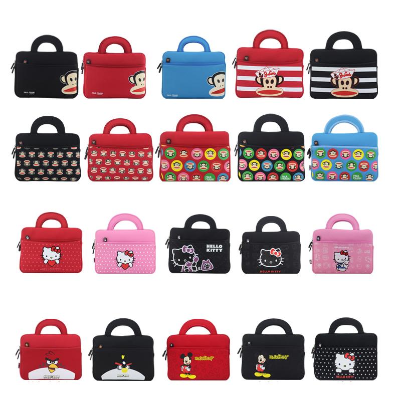 2015 Hot Soft Notebook Computer Handbags Laptop sleeve bag case tablet PC Cases Bags 8 7 Waterproof Handbag(China (Mainland))