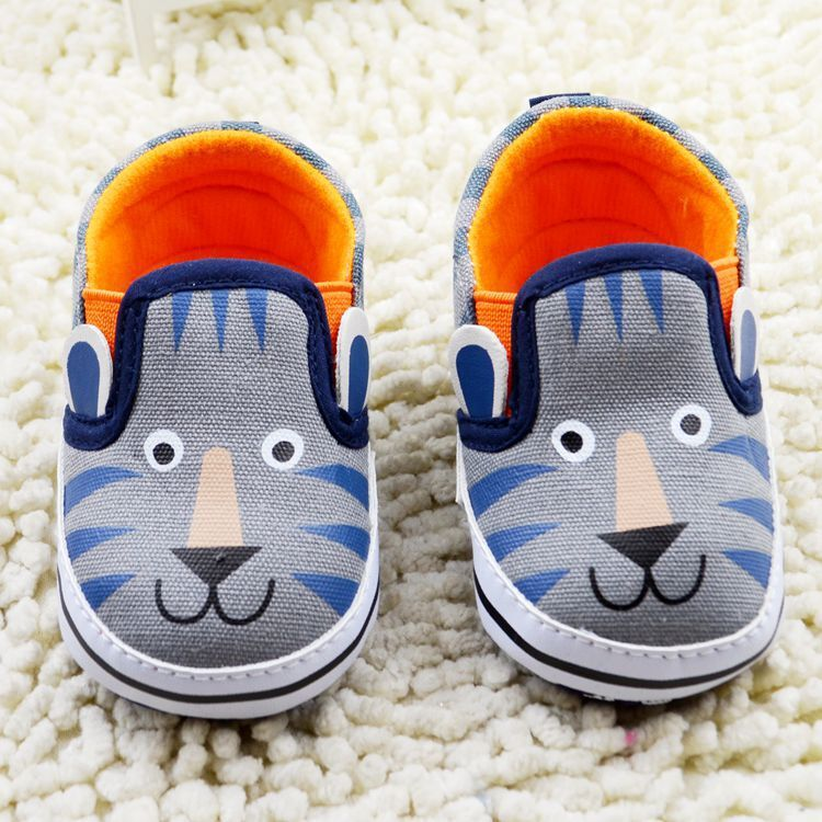 0-18M Baby Infant Kids Boy Girl Soft Sole Canvas Sneaker Toddler Newborn Shoes Hot  -  Mall-1048360 store