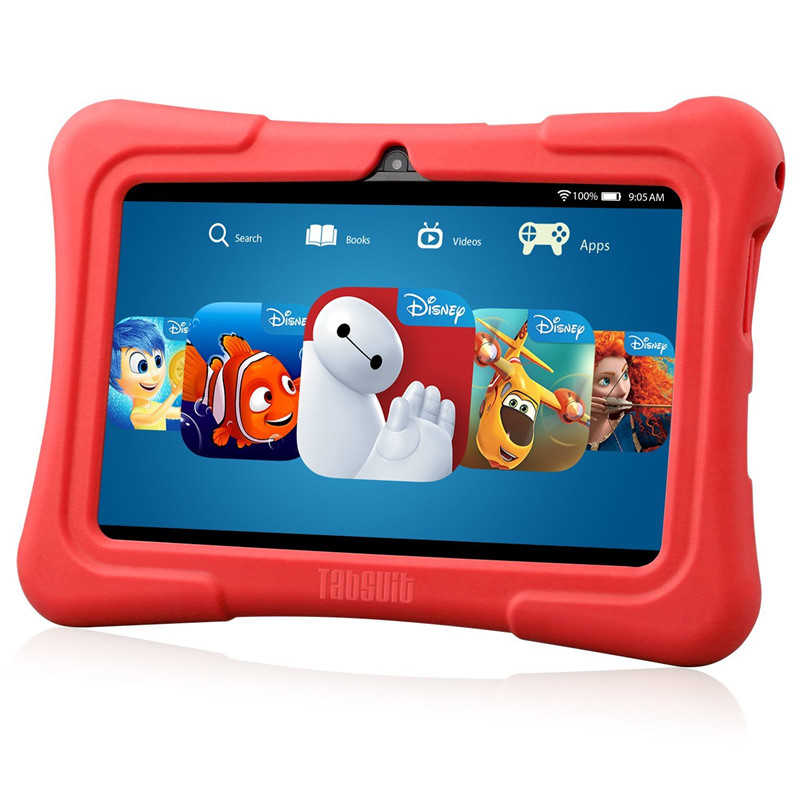 Dragon touch Newest 7 inch Kids Tablet PC Quad Core 8G ROM Android 5.1 With Children Apps Dual Camera PAD for Children(China (Mainland))