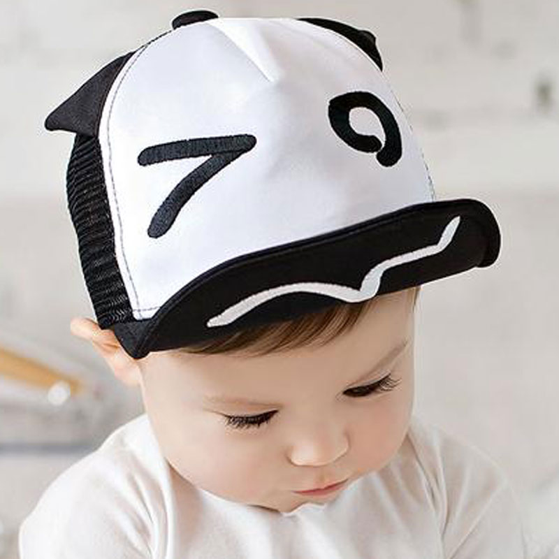 Baby Hat for Kids Boy Girl Baseball Cap Eyes Ears Style Infant Children Mesh Hats Adjustable Snapback New Toddler Sun Casquette(China (Mainland))