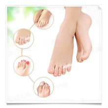 1pair Little toe pinkie thumb for daily use Silicone gel Toe bunion guard foot care little