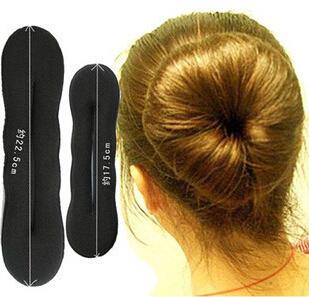 TS 2015 hot sale Women's Magic Foam Sponge Hairdisk Hair Device Donut Quick Messy Bun Updo Headwear(China (Mainland))