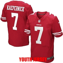 100% Stitiched San Francisco 49ers Colin Kaepernick Patrick Willis Joe Montana Jerry Rice NaVorro Bowman For YOUTH KIDS(China (Mainland))