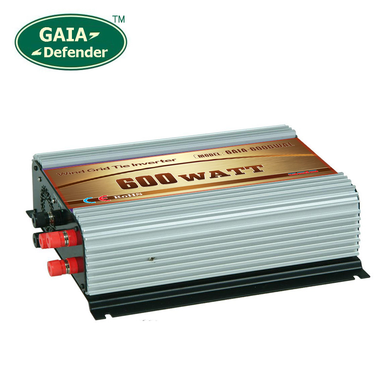 600W Wind Power Grid Tie Inverter with Dump Load Controller for 12V 24V(10.8-30V) 3 Phase wind turbine 100V 110V 120V output(China (Mainland))