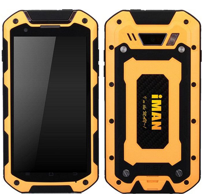 Original iMAN i5800C IP67 Waterproof Phone 4.5 inch MTK6582 Quad Core Android 4.4 5.0MP 3G GPS Shockproof Dustproof Smartphone(China (Mainland))