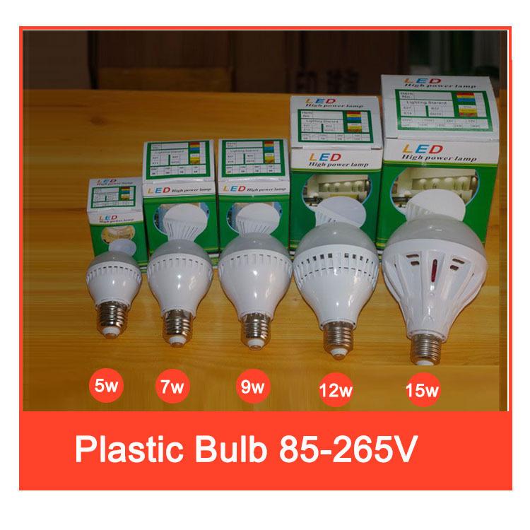 5pes Led Lamp E27 E14 B22110v 220V 5w 7w 9w12w 15w 25w 30w 50w SMD 2835 Led Bulb cold warm White Energy Saving Led Lamp(China (Mainland))
