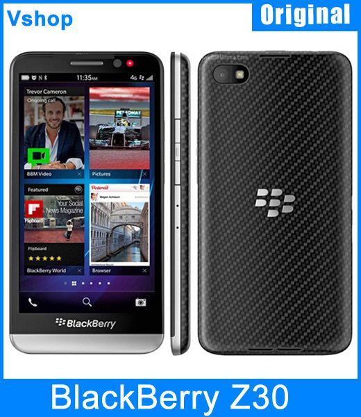 Original BlackBerry Z30 5.0 inch LCD Capacitive BlackBerry OS 10.2 Qualcomm Snapdragon MSM8960T Pro 3G Smart Phone 2GB/16GB 8MP(China (Mainland))