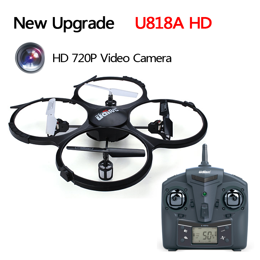 UDI U818A 4CH 360  Flips 2.4GHz RC Quadcopter Drone with 2MP Camera Headless Mode RTF <br><br>Aliexpress