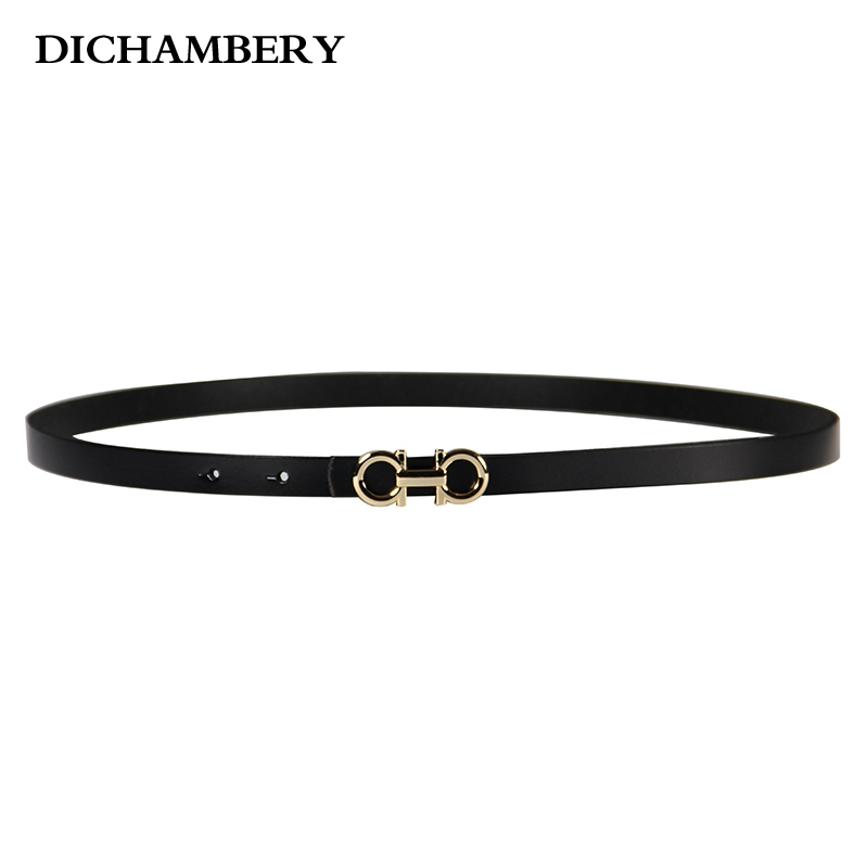 [Diniou] 2016 Genuine Leather Women Belt Brand Belts For Women Fashion Casual Waist Band 8 Colors DG011(China (Mainland))