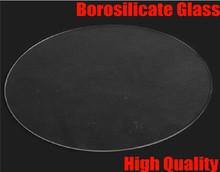 high quality 300mm * 3mm Borosilicate diameter 30cm thickness 3mm Glass plate for 3D printer kit part Rostock delta KOSSEL