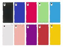 High Quality Rubber Matte Hard Back Case Cover For Sony Xperia M4 Aqua(China (Mainland))