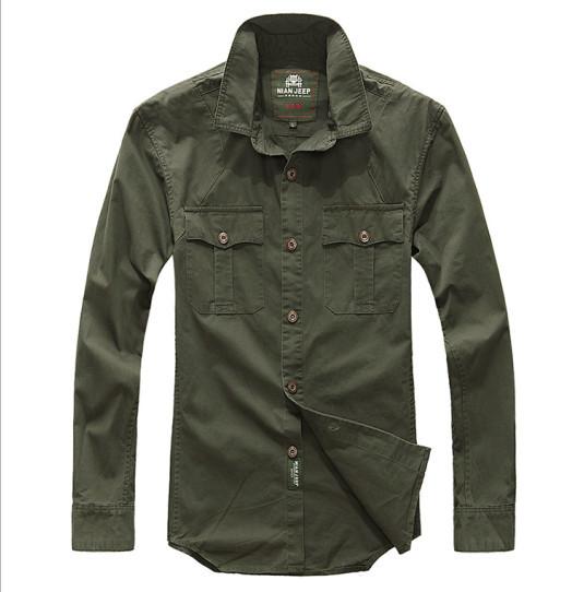 Button down shirts for men cotton lapel men dress shirt for Solid color button up shirts