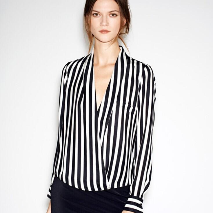women's plaid shirt female long-sleeved chiffon blouse women fat big yards classic - Online Store 923589 store
