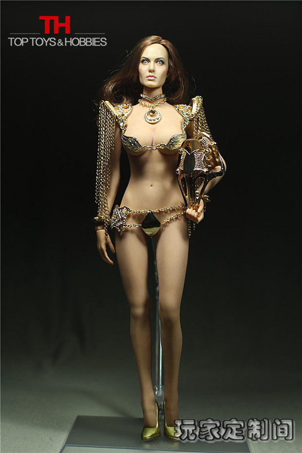 Customized Sexy Clothing 1:6 Scale Female Clothing Set for Seamless Body Large Bust Diamond Beak PHICEN Doll Accessories(China (Mainland))