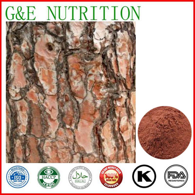 200g Hot sale Pine bark/ Pycnogenol/ Pineburst bark Powder with free shipping<br><br>Aliexpress