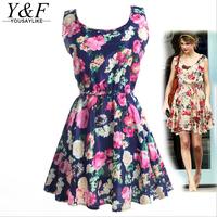 yousaylike 2015 новых летних беременных платья мода кормящих o шеи без рукавов хлопок Одежда для беременной женщины