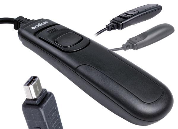 Godox RC-OP12 Remote Shutter Release 1 m Cord for Digital Cameras for Nikon D600 D610 D7100 D7000 D90 D5200 D5100 D5000 D3200(China (Mainland))