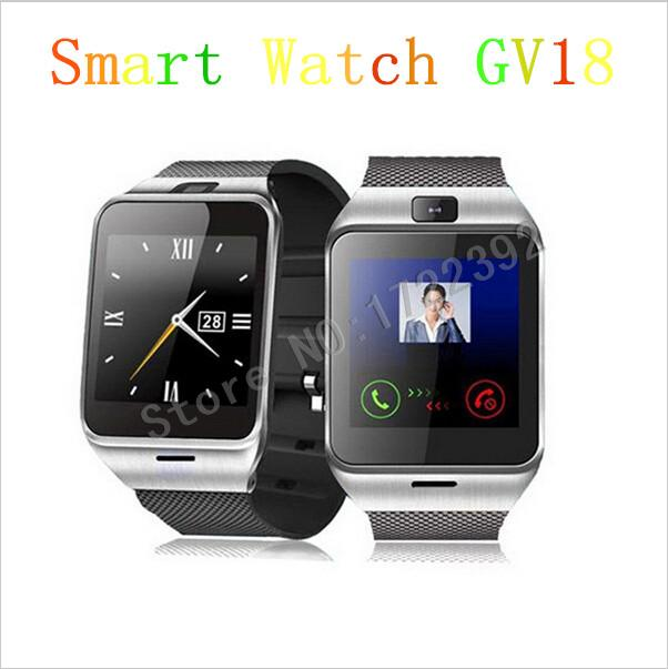 2015 GV18 New Fashion Bluetooth Smart Watch With SIM Card, TF Card, Mp3 and Mp4, Compatible With Apple And Android Phones(China (Mainland))