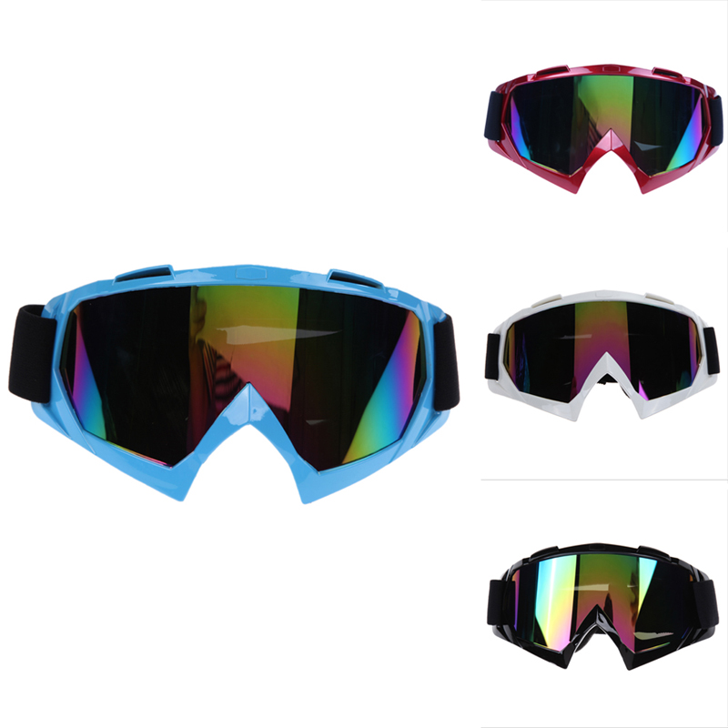Professional Skiing Motorcycle Eyewear Motorcycle ATV Dirt Bike Racing Dirt Bik Anti-UV Mirror Coating Ski Goggles Glasses(China (Mainland))