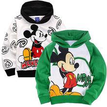 Children Cartoon Hoodies Thin Sweatshirt Boys Girls Winter Autumn Coat Kids Long Sleeve Casual Outwear Baby Clothing(China (Mainland))