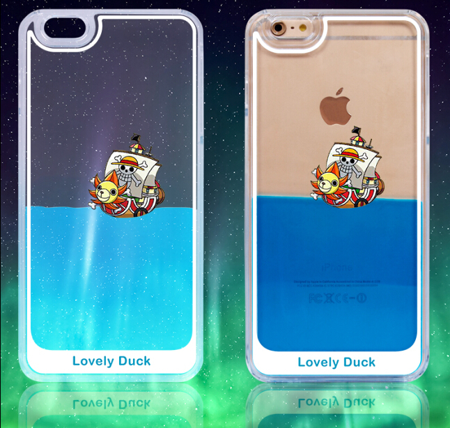 3D Design Flowing Liquid Cartoon Design Clear Case Cover for Apple iPhone 5(China (Mainland))
