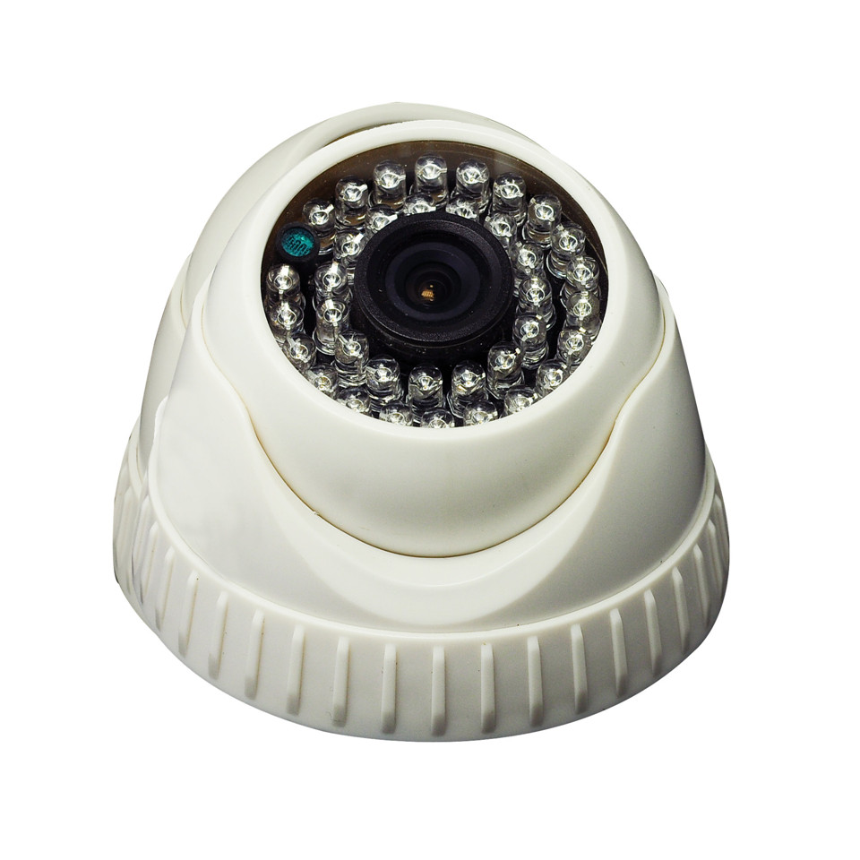 High Quality Indoor surveillance IP Dome camera HD 720P 36 Lamps IR night vision 3.6/6/8mm Security camera J229a(China (Mainland))