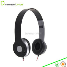3.5mm Over Ear Stereo Headphones Headset Earphones for Kids and Adults Compatible with iPhone, iPad, Android Smartphones Black