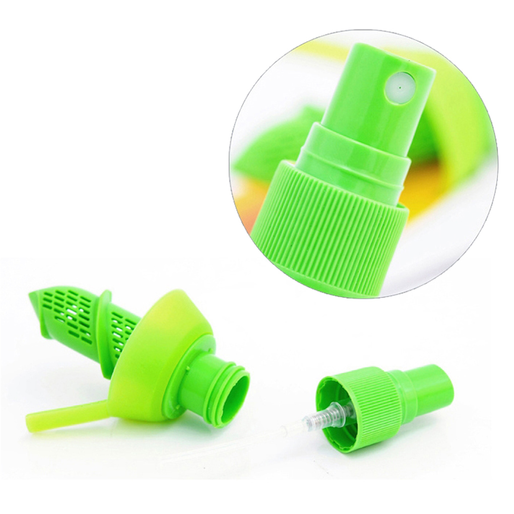 New Arrival Home Kitchen Lemon Juice Sprayer Fruit Citrus Spray Mini Squeezer Hand Juicer Cooking Tool