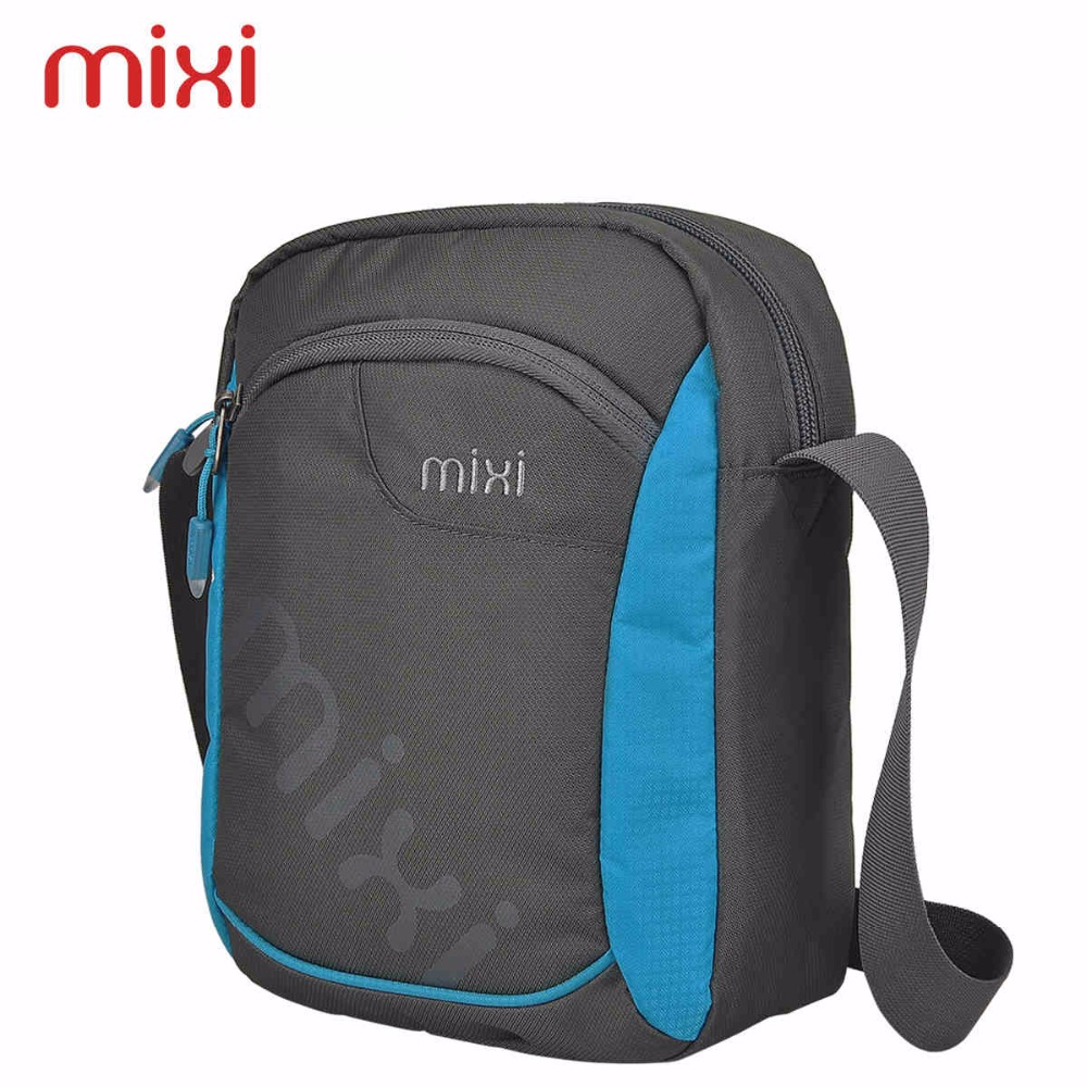 Mixi 2016 Fashion Mini Waterproof Crossbody Handbag Vintage Messenger Bag Casual Sport Shoulder Bags for 7 Colors(China (Mainland))