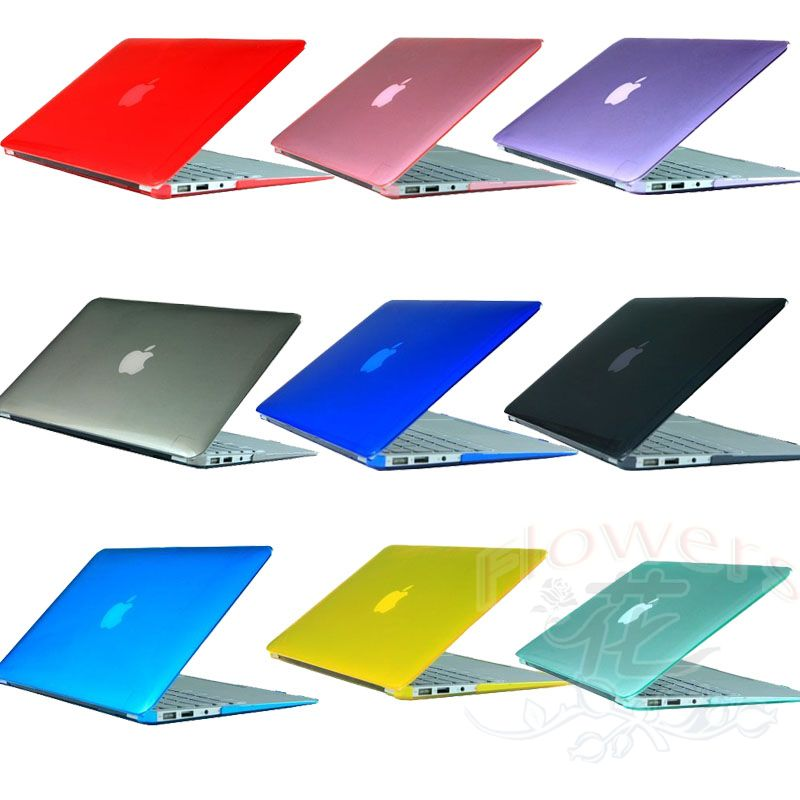 Crystal ABS Plastic Cover Case Shell Sleeve Skin For Apple Laptop Macbook Air 11 13 12 pro 13.3 15.4 Retina(China (Mainland))