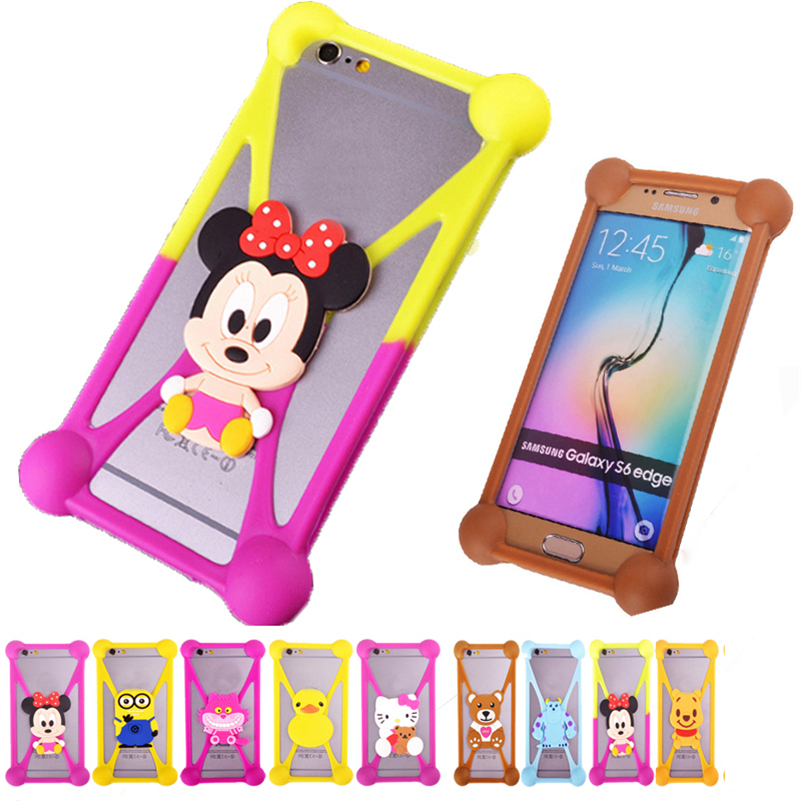Brand 3D Cartoon Back Cover Silicon Mobile Phone Case For DNS s4501m s4008 s4007 s4006 s4005 s4004 s4004m s4003 Anti-knock Bag(China (Mainland))