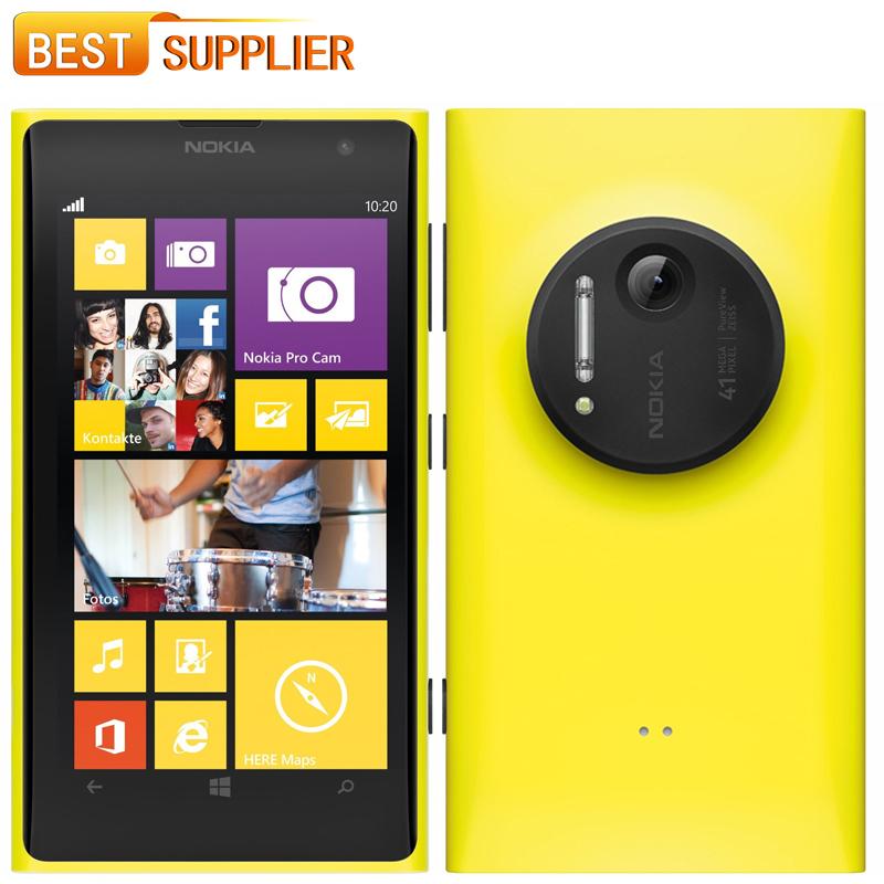 """2016 Hot sale Original Nokia Lumia 1020 Windows 32G ROM 41MP Camera NFC Bluetooth 3G / 4G 8 Dual Core 4.5"""" Screen Mobile phone(China (Mainland))"""