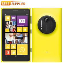 "2016 Hot sale Original Nokia Lumia 1020 Windows 32G ROM 41MP Camera NFC Bluetooth 3G / 4G 8 Dual Core 4.5"" Screen Mobile phone(China (Mainland))"