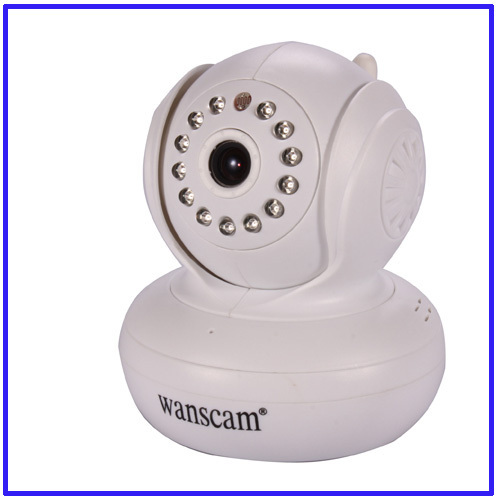 New hot Dome mini indoor Night Vision Vedio Audio Wirelss with free P2P ip camera ip cctv security free shipping