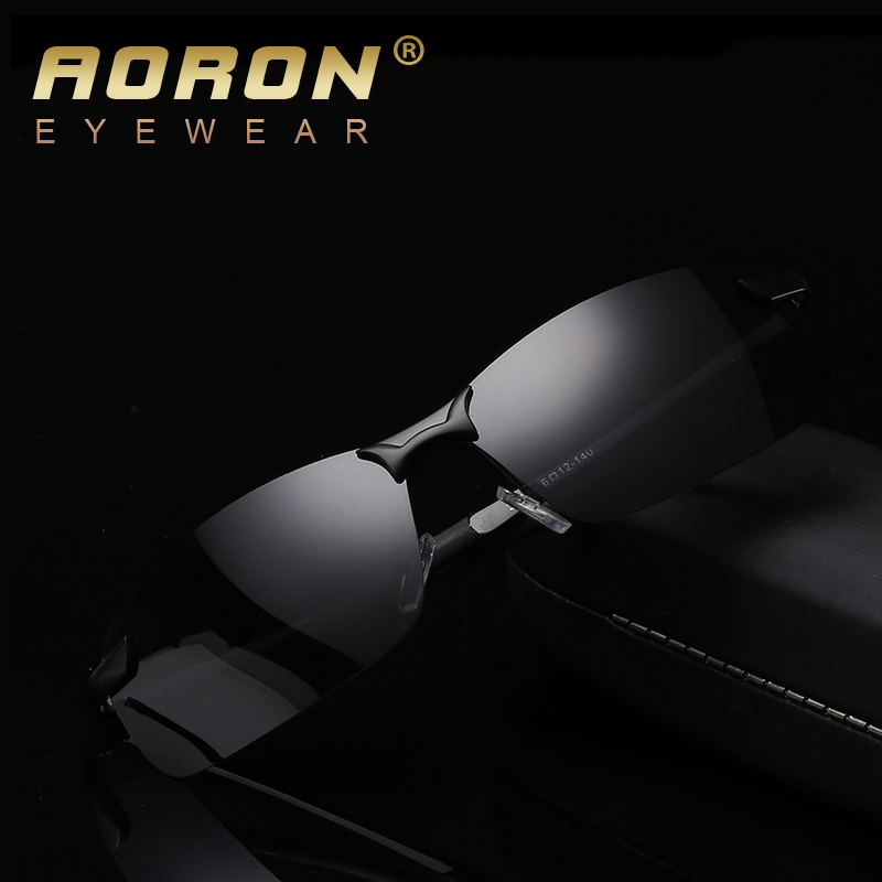AORON Men Brand Polarized Sunglasses Women Classic Design Glasses oculos de sol feminino cool accessories holbrook gafas hombre(China (Mainland))