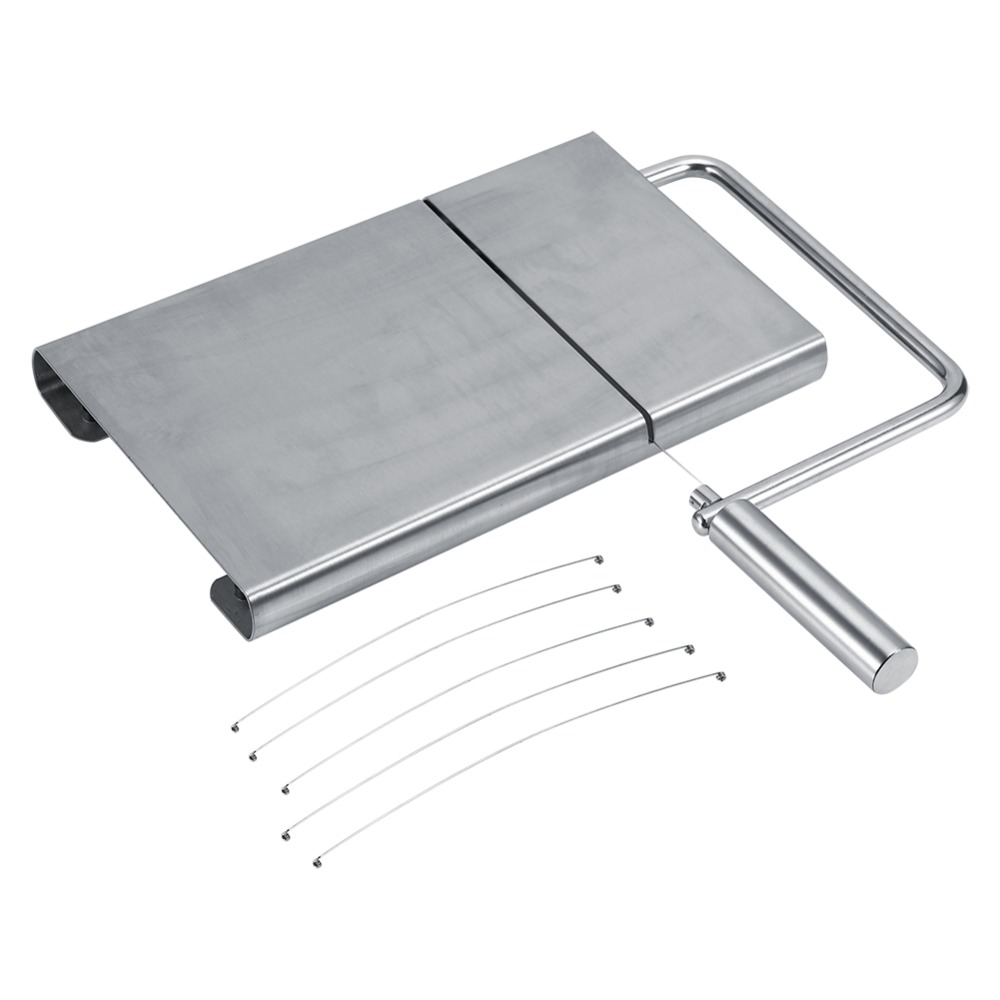 Hot Sale Cheese Slicer Butter Cutting Board Wire Making Dessert Blade Durable Bakeware Knife Kitchen Hand Tool Baking Cooking(China (Mainland))