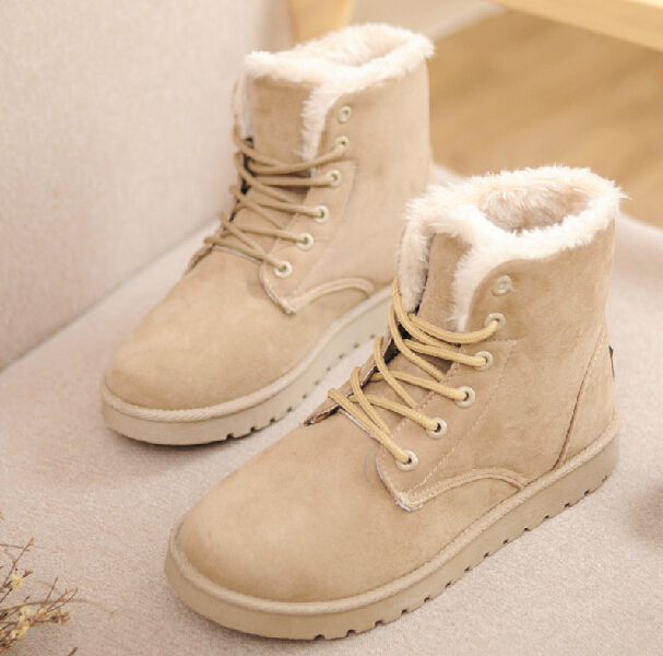 Cute Snow Boots Women - Cr Boot