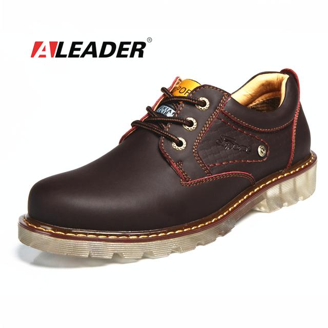 Мужчины кожи Oxfords обувь 2015 осень натуральной кожи Caual обувь оксфорд мода узелок ...
