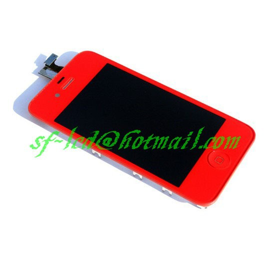 New ifor phone 4 Front LCD Screen + Touch Digitizer Assembly CDMA Verizon Sprint(China (Mainland))